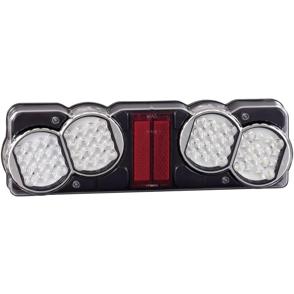 LED Lastbilsbaglygte SecoRüt bagved, benstre