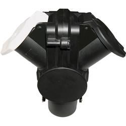 Adapter SecoRüt, 15-polni, 24 V na 2x 7-polni vtičnici tipa N in S