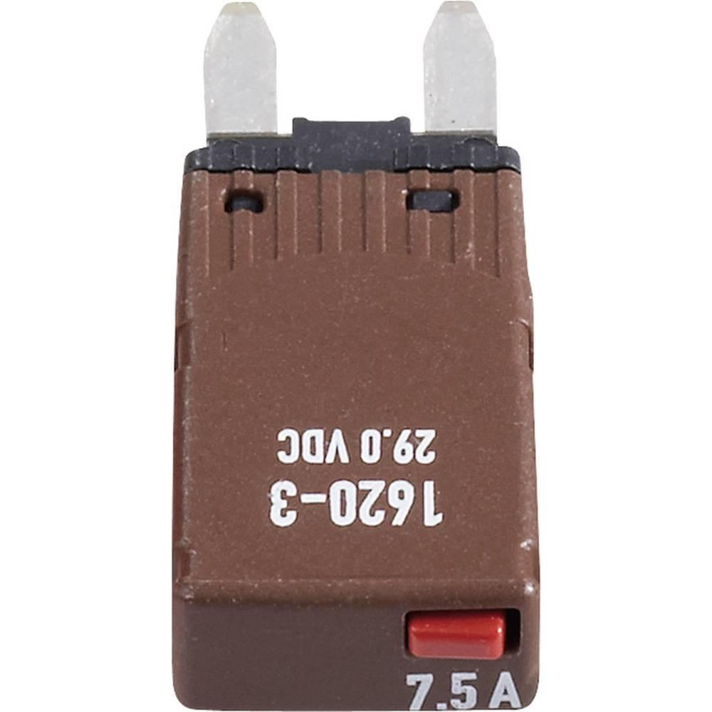 Avtomobilska mini ploščata varovalka, avtomatska 7,5 A