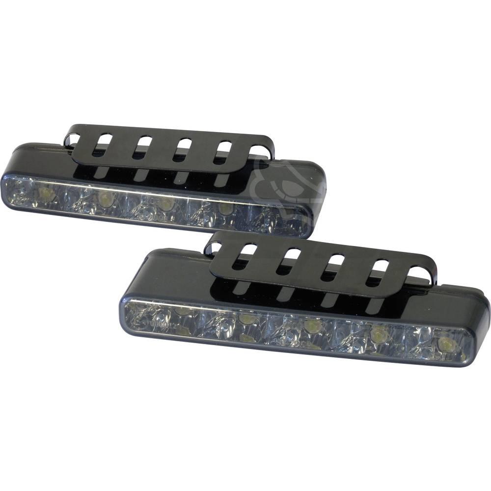 Devil Eyes LED luči za dnevno vožnjo, črno steklo, 5 LED (Š x V x G) 160 x 25 x 55,1 mm
