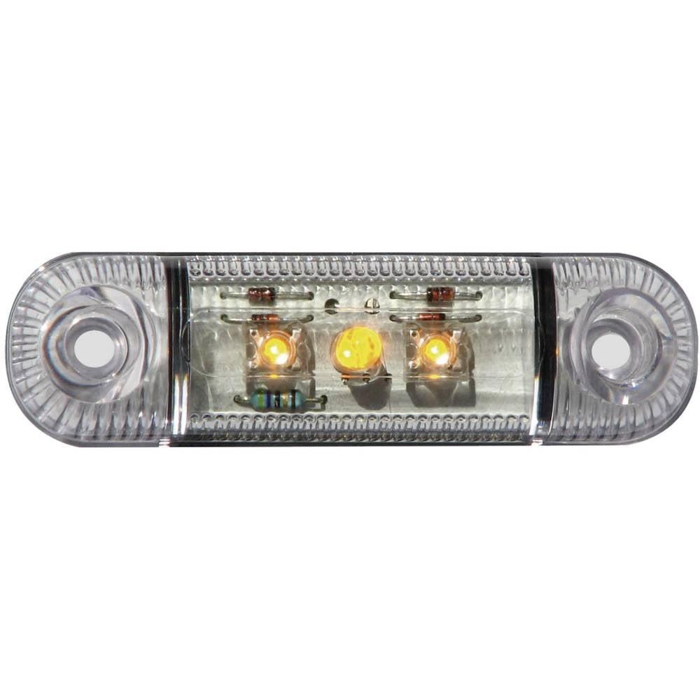 Bočna markirna LED svjetla SecoRüt, kratka, narančasta 61281