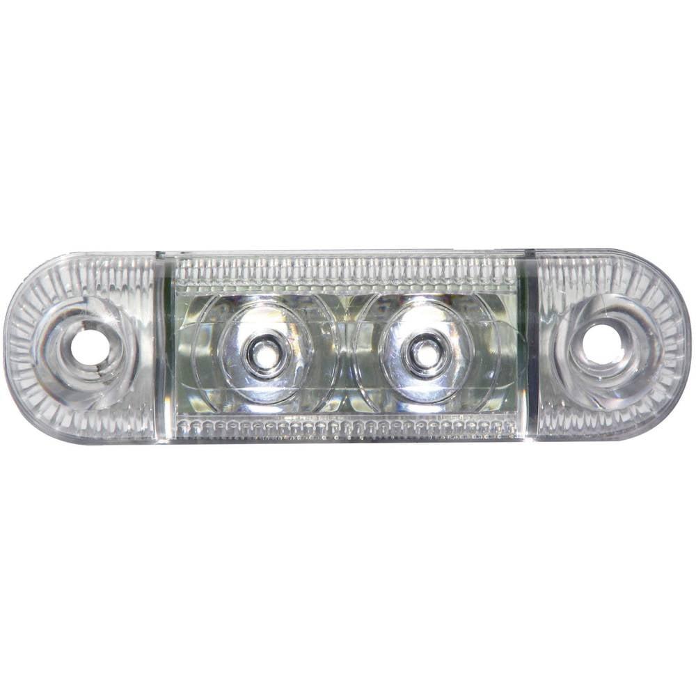 LED Omrids-markeringslygte SecoRüt i siden Hvid