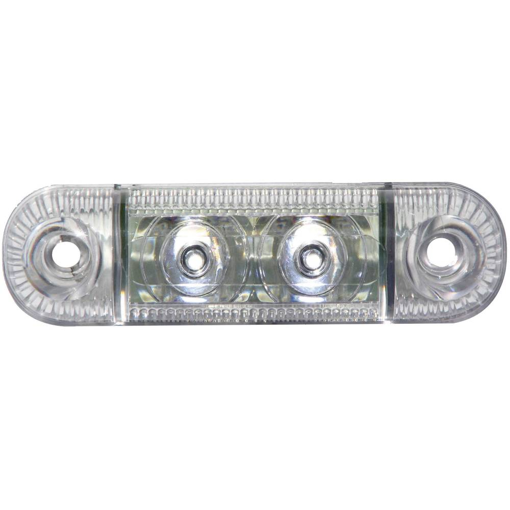 LED Omrids-markeringslygte Positionslys i siden 12 V, 24 V Hvid SecoRüt Klar glas