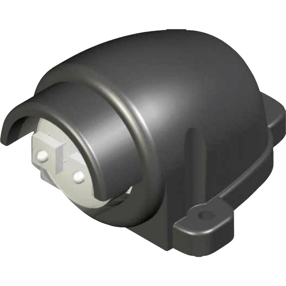 LED luč za registrsko tablico, črna 12 V, 24 V SecoRüt