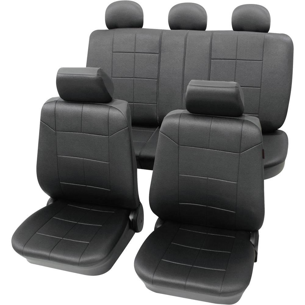 Sedežna prevleka Petex Dakar, antracitna, 17-delni komplet 22574901