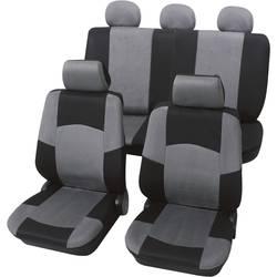 Sedežna prevleka Petex Classic, črna/siva, 17-delni komplet 24274918