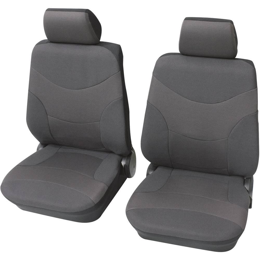 Navlaka za jedno sjedalo Petex Vesuv, siva, 6-dijelni komplet 23491501