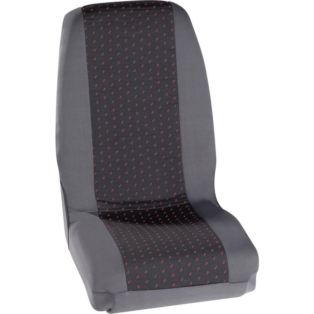 Navlaka za sjedala Petex Profi 1, crvena/antracit, jednostruko/jednostruko sjedalo, komplet 30070012