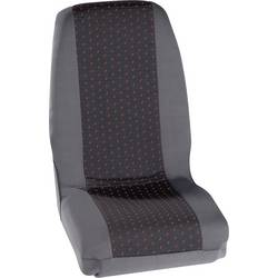 Sedežna prevleka Petex Profi 1, rdeča/antracitna, enojni/enojni sedež, komplet 30070012
