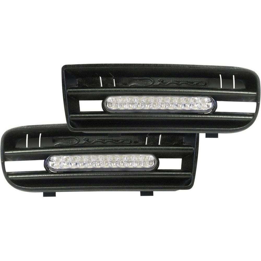 LED Dnevna svjetla za vožnju Dino s mrežastim umetkom za VW Golf 4, 24 LED 610850