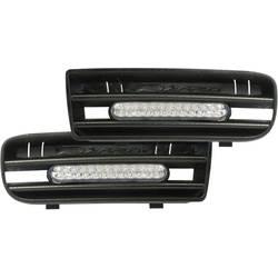 DINO LED luči za dnevno vožnjo z mrežastimi vložki za VW Golf 4 24 LED