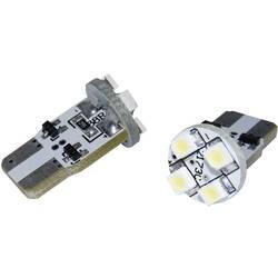 LED-žarulja Eufab s 4 LED, SMD, T10, W2,1x9,5d, bijela, (O x D) 11,5 x 20,5 mm 13296