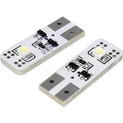 Eufab SMD-LED T10 žarnica z 2 LED T10 W2.1x9.5d bela (L x B x H) 26 x 10 x 6 mm