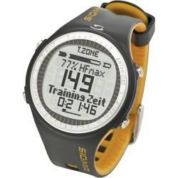 Ura za merjenje srčnega utripa s priloženim prsnim trakom Sigma PC 25.10, črno-rumena