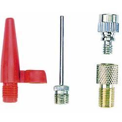 Komplet adapterjev za zračno tlačilko Fischer Fahrrad 85618 85618 Kovinska, Rdeča