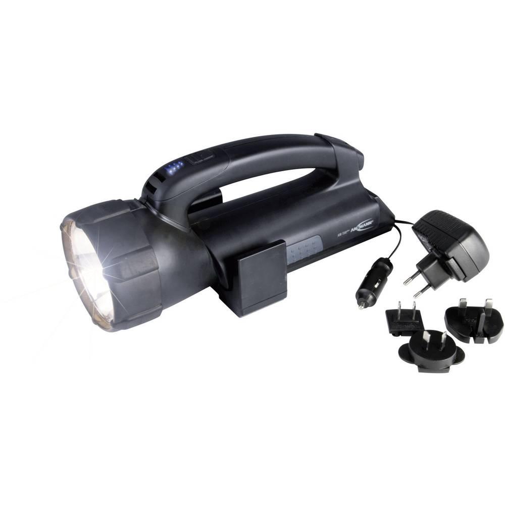Akumulatorski ročni reflektorASN 15 HD plus 5102143-510 Halogenska žarnica 6 V, 20 W/4 LE Ansmann