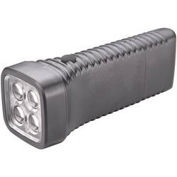 LED džepna svjetiljka AccuLux MultiLED akumulatorska 152 g crna