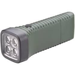 LED džepna svjetiljka AccuLux MultiLED akumulatorska 152 g zelena