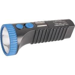 LED džepna svjetiljka AccuLux PowerLux akumulatorska 215 g crna-plava