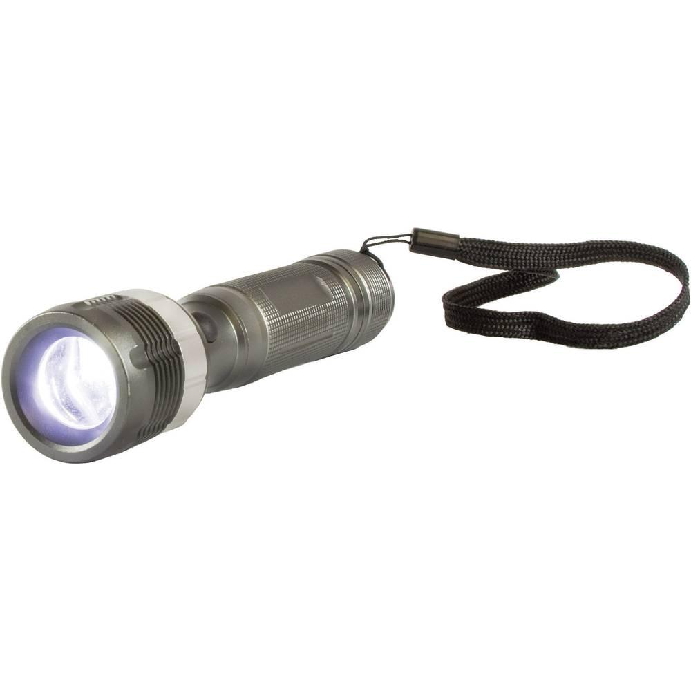 LED džepna svjetiljka Arcas 3W na baterije 169 g siva
