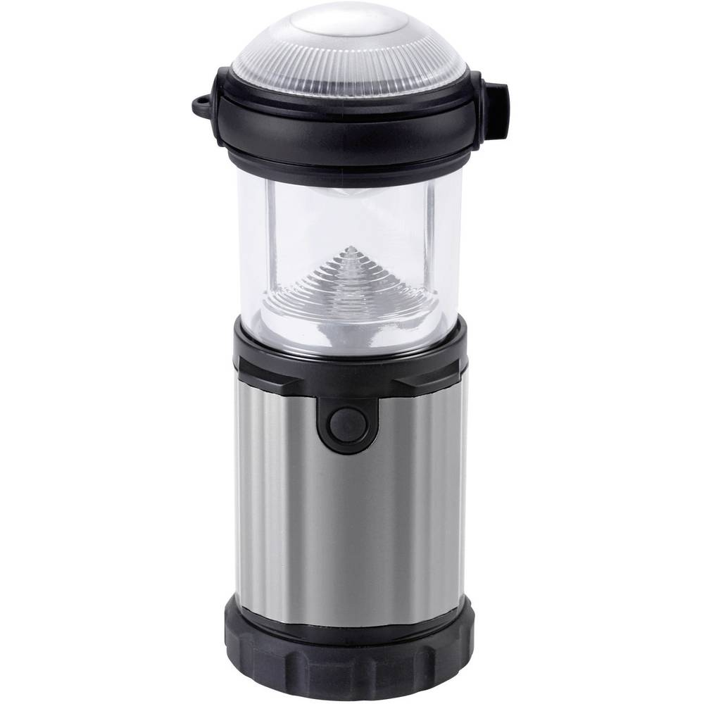 LED lanterna za kampiranje Ampercell Montana na baterije 315 g crno-srebrna 10425