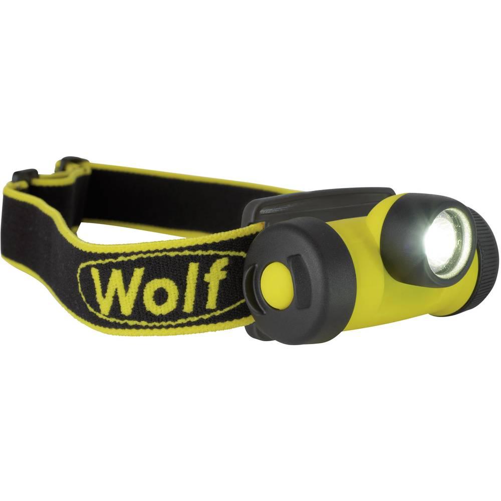 Naglavna luč zaščitena pred eksplozijami Wolf HT-400 EX za EX-območja: 1, 2 High-Power-LED Baseefa10ATEX0067, IECEx BAS 10.0023