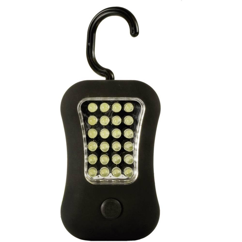Ručna LED-svjetiljka Gigalite24+4, 30700019, vrijeme sv.: 20 h, crne boje, težina: 106 g