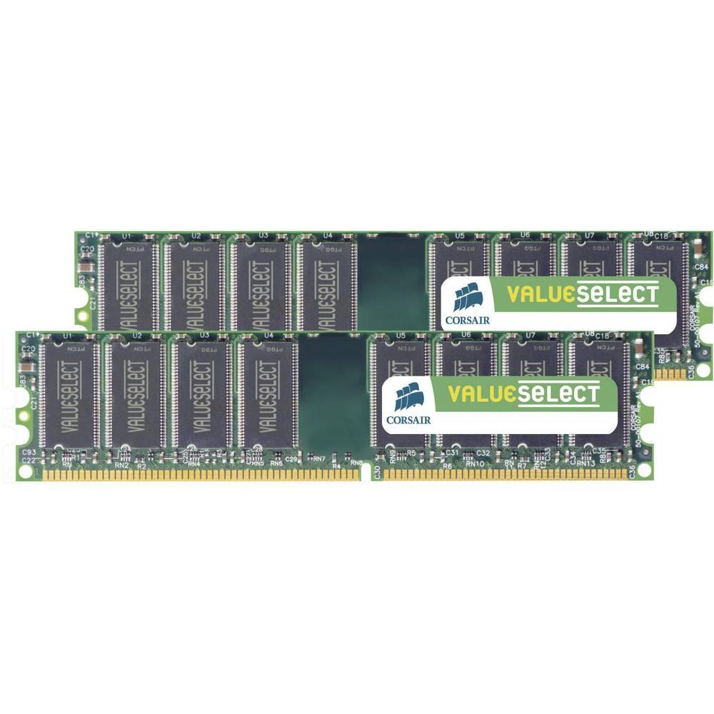 Radna Memorija Za Stolna Raunala Kit Corsair ValueSelect VS4GBKIT667D2 4 GB 2 X DDR2