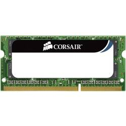 Corsair ValueSelect Notebook pomnilnik 4 GB (1x 4 GB) DDR3-RAM 1333 MHz 9-9-9-24 204pin SO CMSO4GX3M1A1333C9