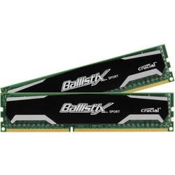 Delovni pomnilnik Crucial Ballistix Sport, 8 GB (2 x 4 GB),DDR3-RAM, 1600 MHz, 9-9-9-24 BLS2CP4G3D1609DS1S00CEU