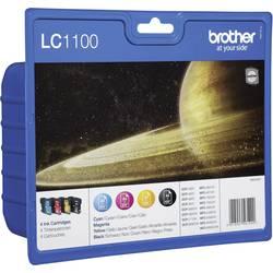 Originalne patrone za printer LC-1100 Brother kombinirano pakiranje crna, cijan, magenta, žuta