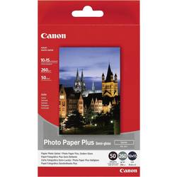 Fotopapper Canon Photo Paper Plus Semi-gloss SG-201 1686B015 10 x 15 cm 260 G/m² 50 ark Sidenglans