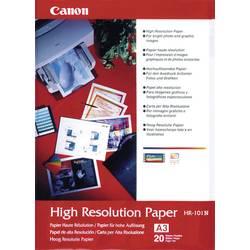 Fotopapper Canon High Resolution Paper HR-101 1033A006 DIN A3 106 G/m² 20 ark Matt