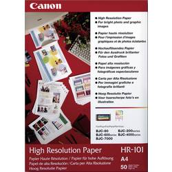 Fotopapper Canon High Resolution Paper HR-101 1033A002 DIN A4 106 G/m² 50 ark Matt