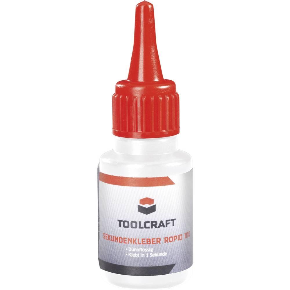 TOOLCRAFT sekundno lepilo ROPID 100 886512 20 g