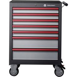 TOOLCRAFT 887089 voziček za delavnico WSW-307 mere:(Š x V x G) 681 x 1000 x 459 mm á 75 mm