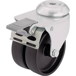Kotač, upravljački, dvostruki Blickle 276394, Ø 50mm, leđna rupa, sigurnosna kočnica