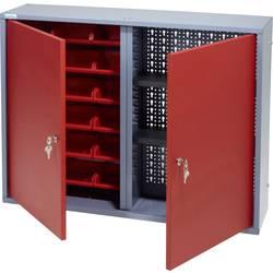 Küpper 70322 viseča omara 80 cm, 2 vrati, 18 škatel rdeče barve (Š x V x G) 80 x 60 x 19 cm