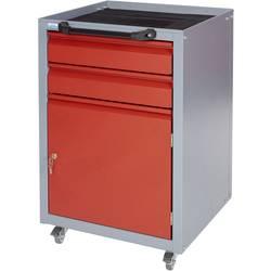 Küpper 12022 voziček za delavnico rdeče barve mere:(Š x V x G) 50 x 76 x 47 cm
