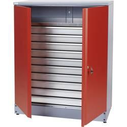 Küpper 70692 omara za material 110 cm rdeče barve (Š x V x G) 91 x 110 x 45 cm
