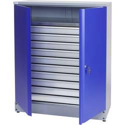 Küpper 70697 omara za material 110 cm ultramarin-modre barve (Š x V x G) 91 x 110 x 45 cm