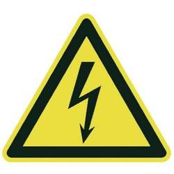 Opozorilna tabla za postavitev na mizo Električna napetost (Š x V x G) 275 x 600 x 270 mm Moravia MORION 345.26.119 1 KOS