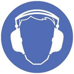 Opozorilna tabla za postavitev na mizo Uporaba zaščite za ušesa (Š x V x G) 275 x 600 x 270 mm Moravia MORION 345.24.447 1 KOS