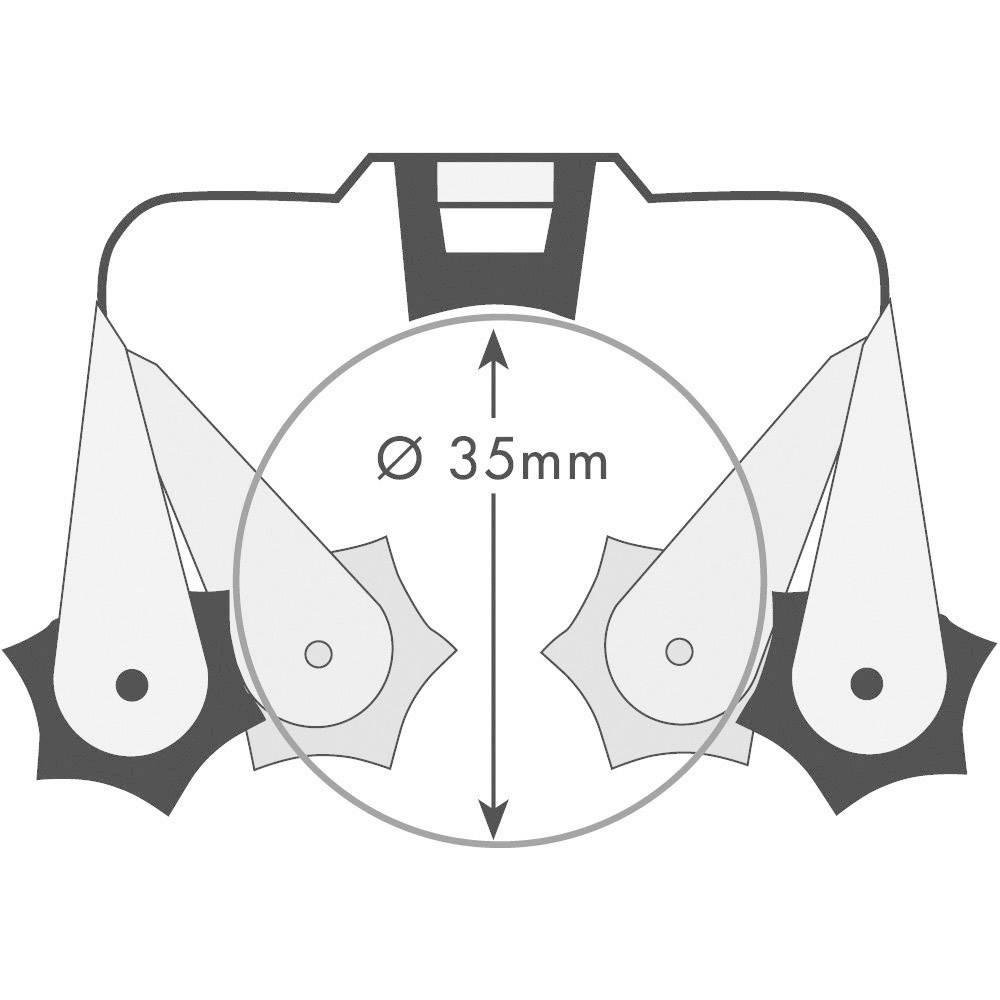 Set držača za alat 40 143 PRAX® 35 mm 6-dijelni