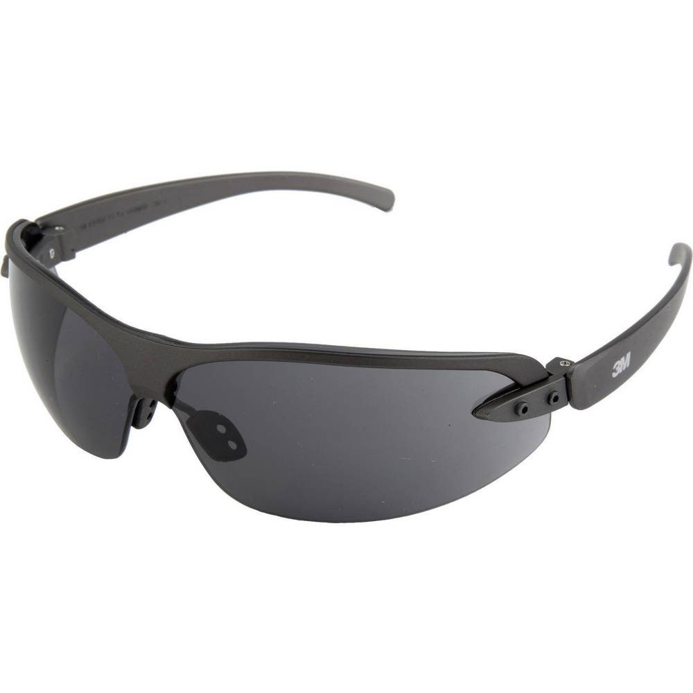 Zaštitne naočale 3M 1200E, DE272934733, siva tonirana, okvir:poliamid; ušesnik: polikarbona