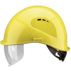 VisorLight zaštitna kaciga s ugrađenim vizirom, kaciga: EN 397; vizir: EN 166 žute boje