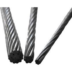Čelično uže, (ØxD) 2mm x 1m, sivo, 13211100200
