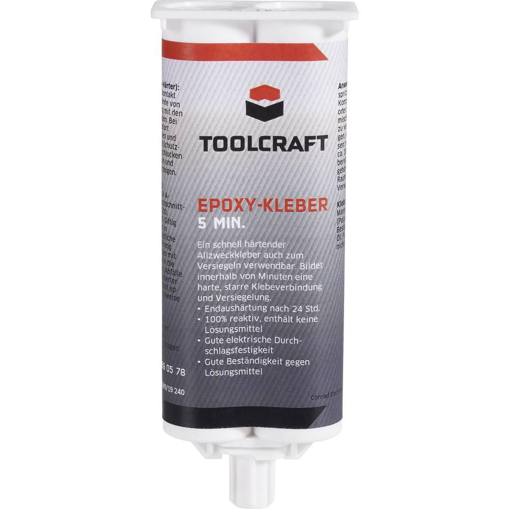 TOOLCRAFT dvokomponentno epoksidno lepilo 5 min. 50 ml