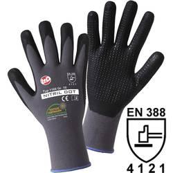 Štrikane rukavice Worky NitrilDot 1166, 100% poliamid s pjenastom nitrilnom prevlakom, vel. 9