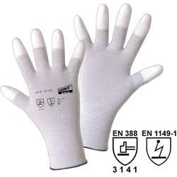 Fine štrikane rukavice Worky 1170 ESD, poliamid/karbonska vlakna s PU-prevlakom, vel. 8